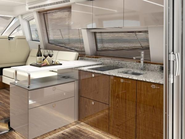 2020 Sea Ray boat for sale, model of the boat is Sundancer 520 & Image # 7 of 14