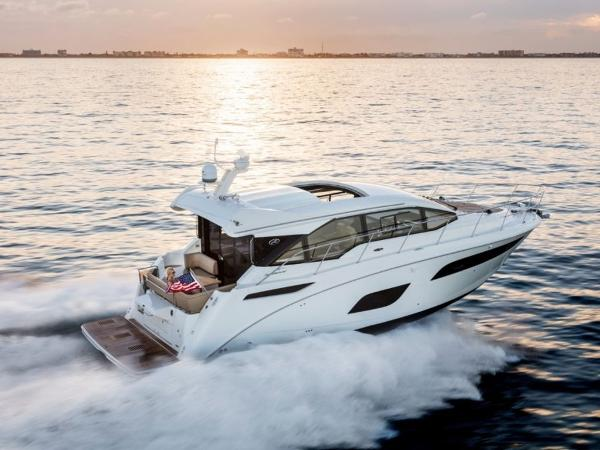 2020 Sea Ray boat for sale, model of the boat is Sundancer 460 & Image # 1 of 21