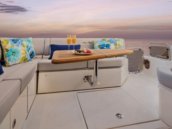 2020 Sea Ray boat for sale, model of the boat is Sundancer 460 & Image # 4 of 21