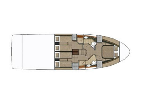 2020 Sea Ray boat for sale, model of the boat is Sundancer 460 & Image # 13 of 21