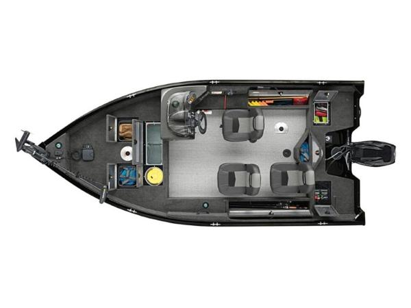 2020 Tracker Boats boat for sale, model of the boat is Pro Guide™ V-16 SC & Image # 4 of 43