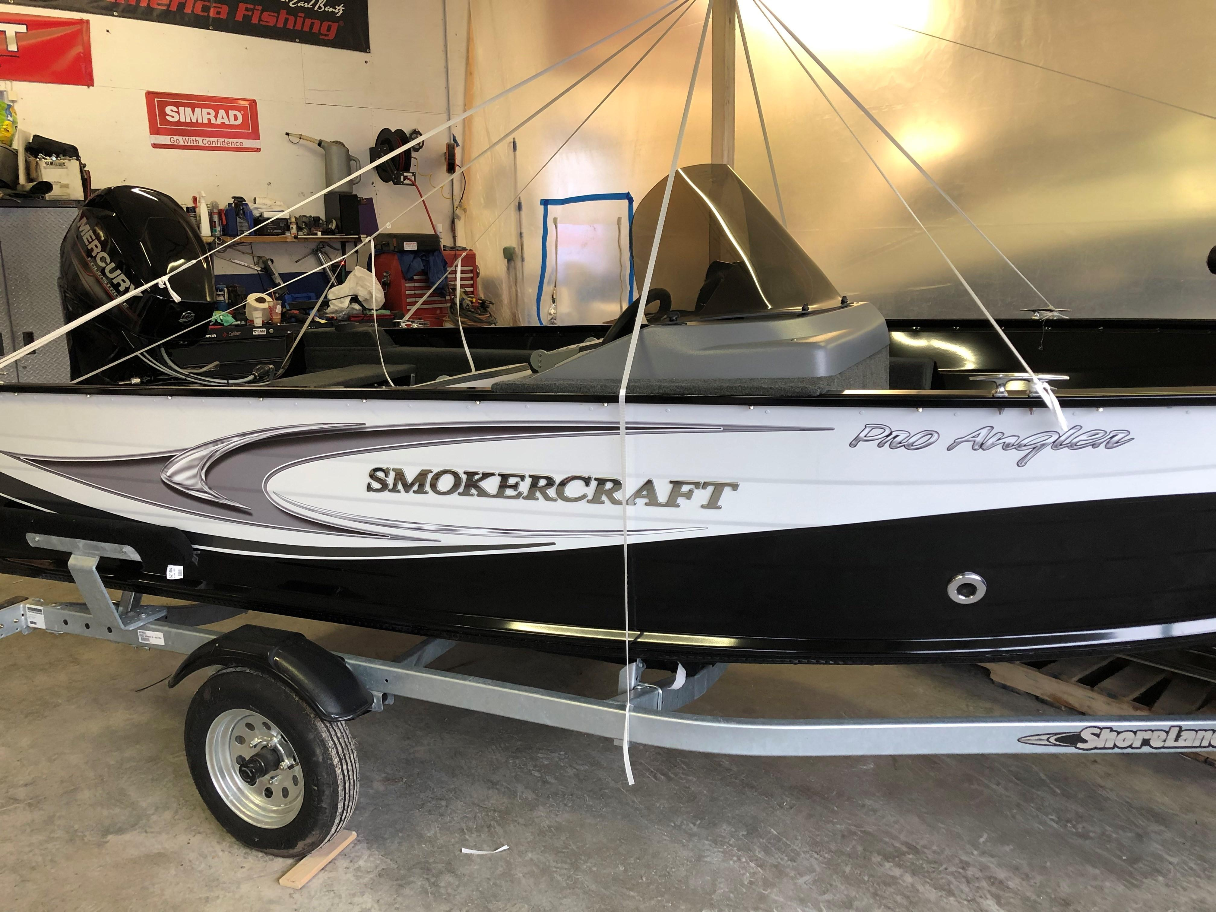 2018 Smoker Craft boat for sale, model of the boat is Pro Angler 161 & Image # 2 of 14
