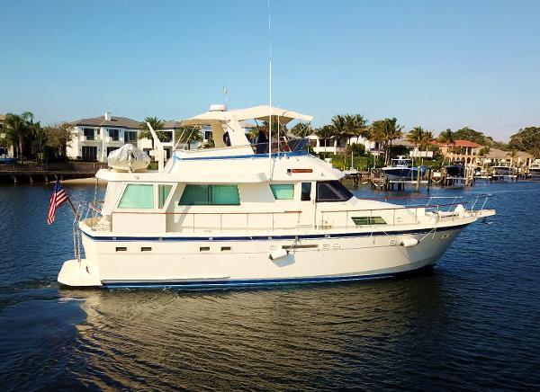 1986 54' Hatteras Motor Yacht