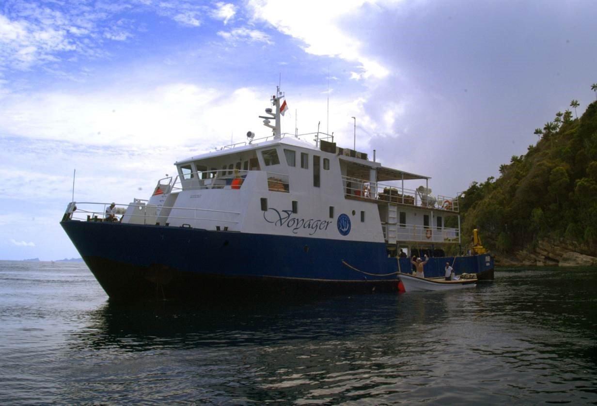 Jual Kapal Eksplorasi 110 feet