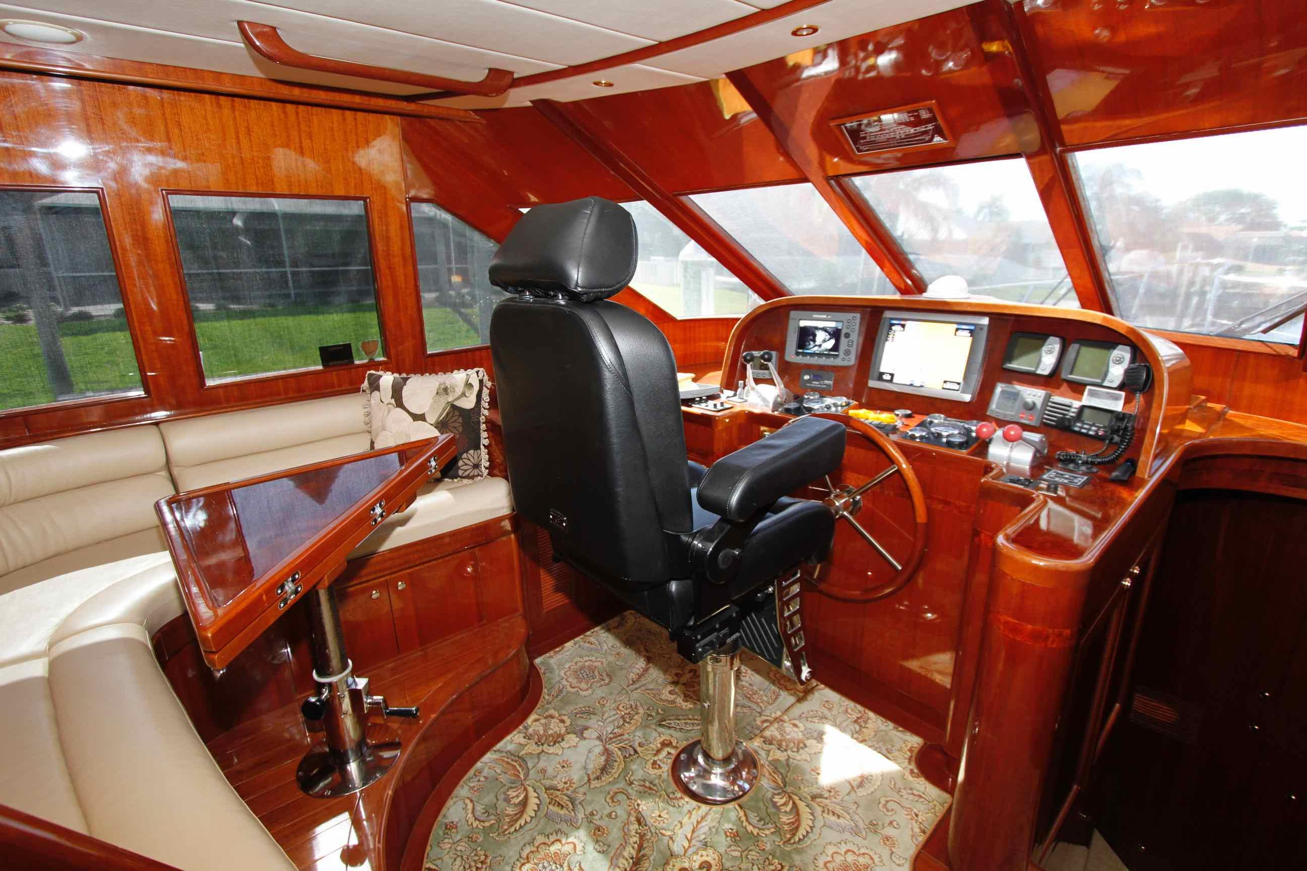 Hampton 558 Pilothouse