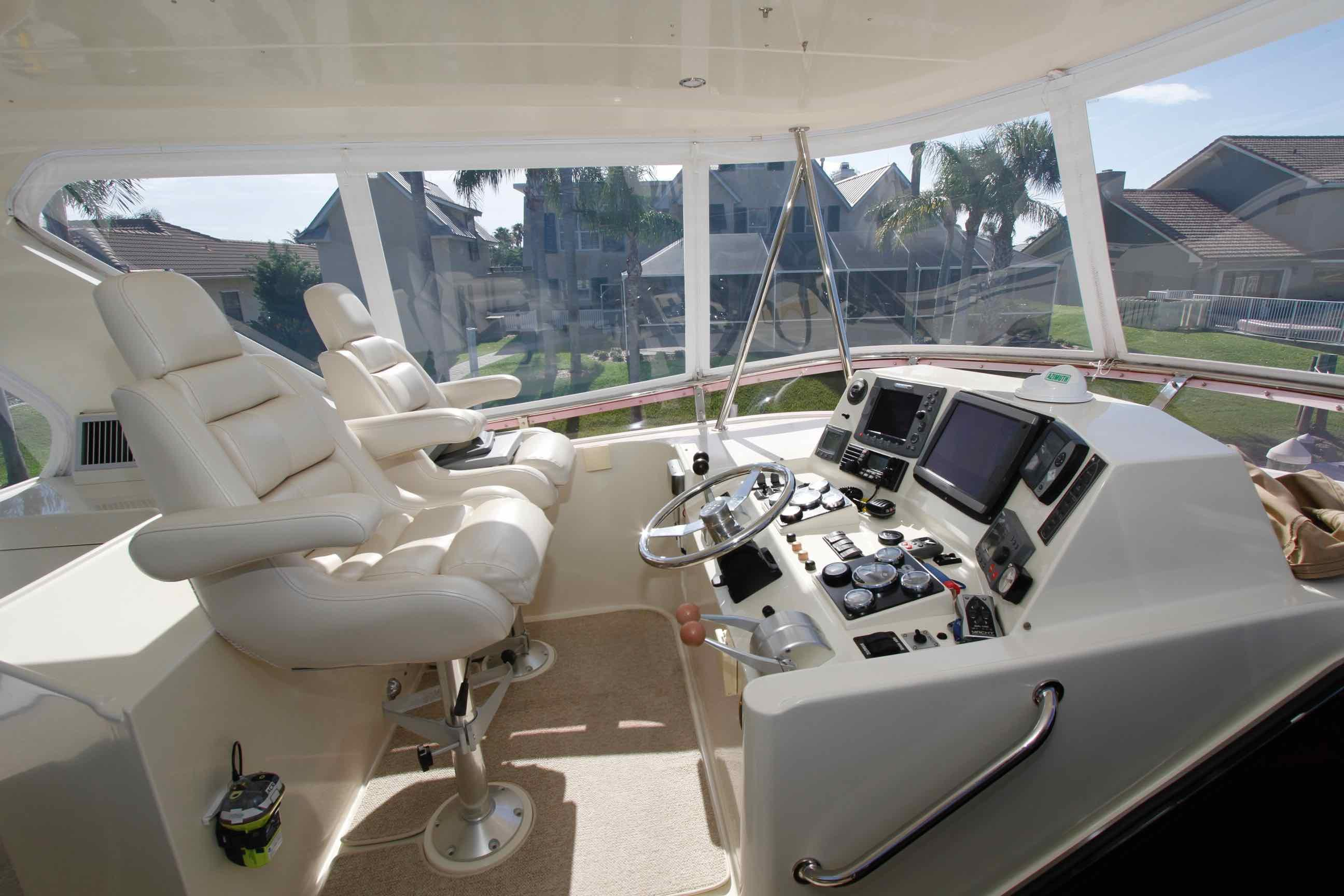 Hampton 558 Pilothouse Flybridge