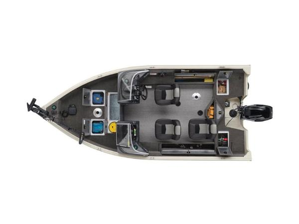 2020 Tracker Boats boat for sale, model of the boat is Pro Guide™ V-16 WT & Image # 7 of 43