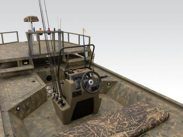 2020 Tracker Boats boat for sale, model of the boat is GRIZZLY® 2072 CC Sportsman & Image # 20 of 35