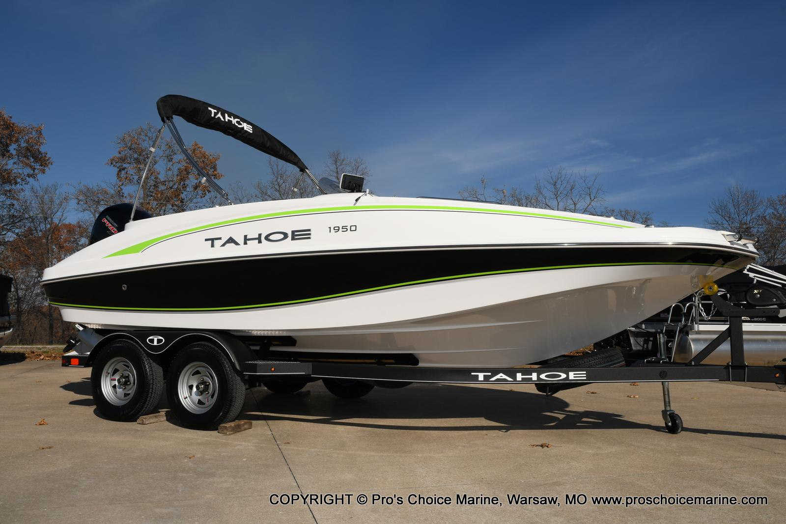 2020 Tahoe boat for sale, model of the boat is 1950 & Image # 1 of 50
