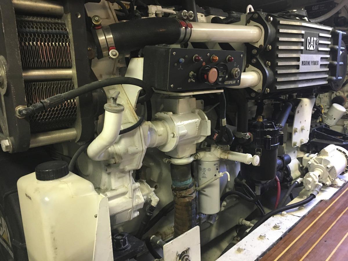 CAT engine - strbd