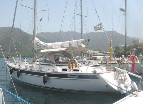 Boat Name: AORANGI; Year: 2005; Builder: Hallberg-Rassy; Model: 43 ...