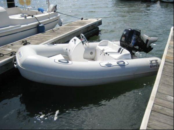 12' Apex RIB w/18HP Outboard