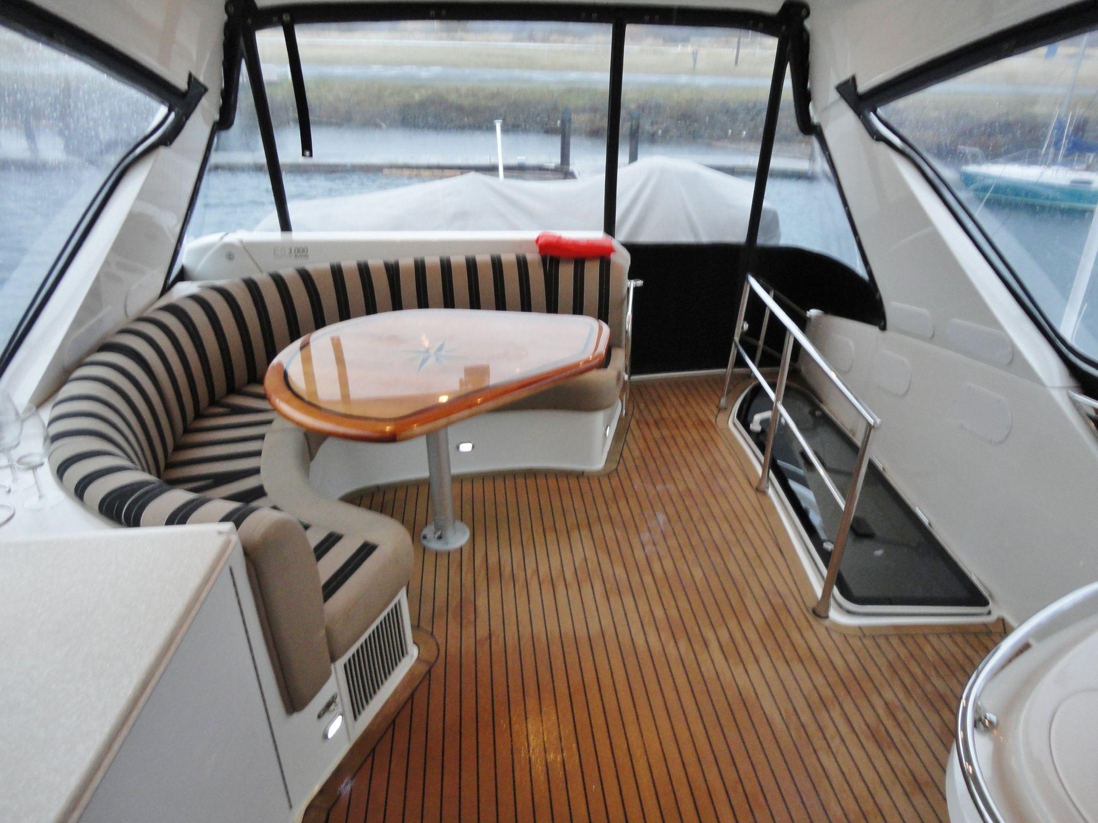 FlexTeak Deck, New Upholstery, Crane Davit