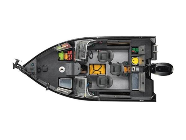 2020 Tracker Boats boat for sale, model of the boat is Pro Guide™ V-165 WT & Image # 40 of 41