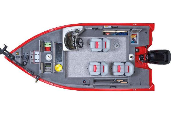 2013 Tracker Boats boat for sale, model of the boat is Pro Guide V-16 SC & Image # 7 of 18
