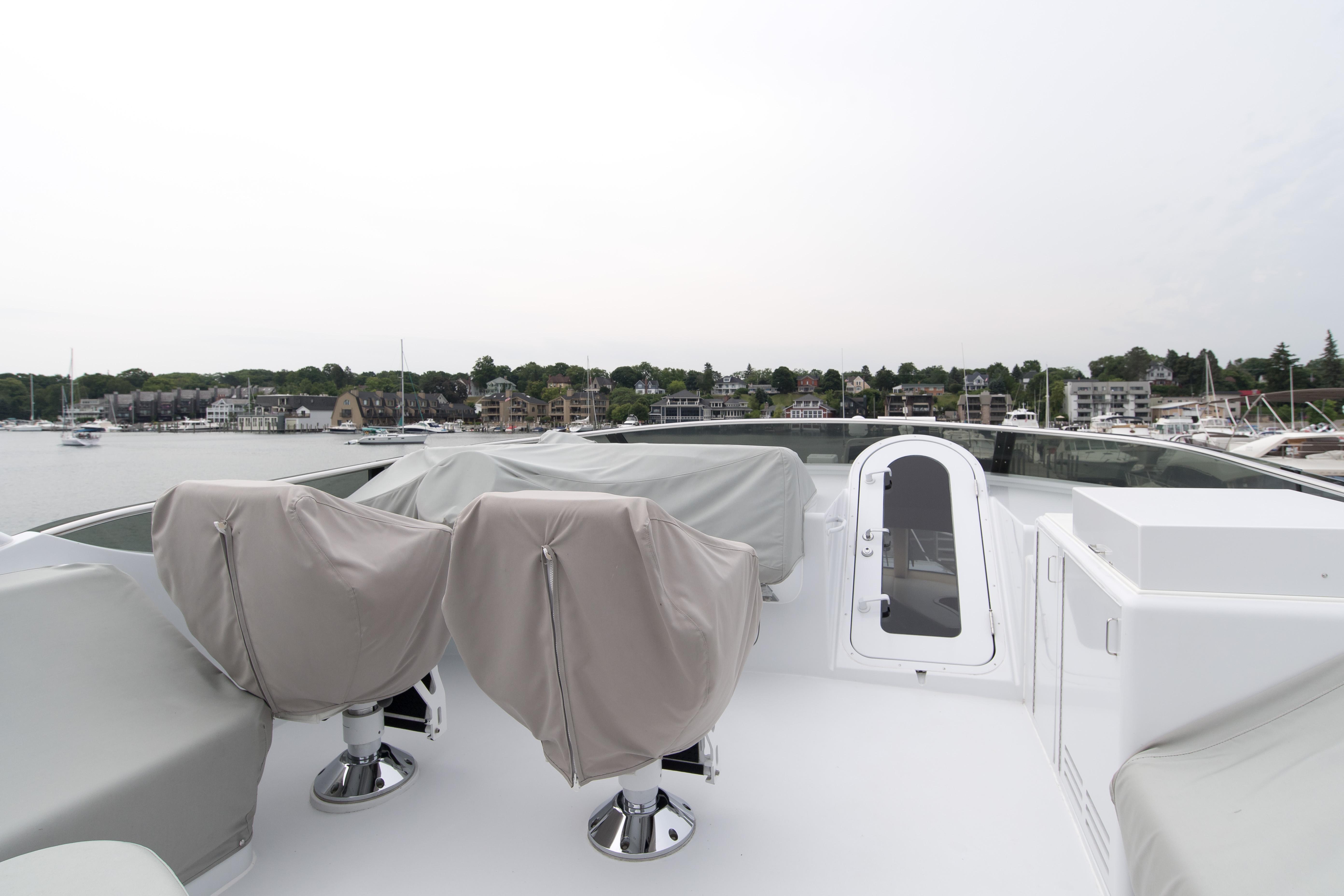 Flybridge helm covers