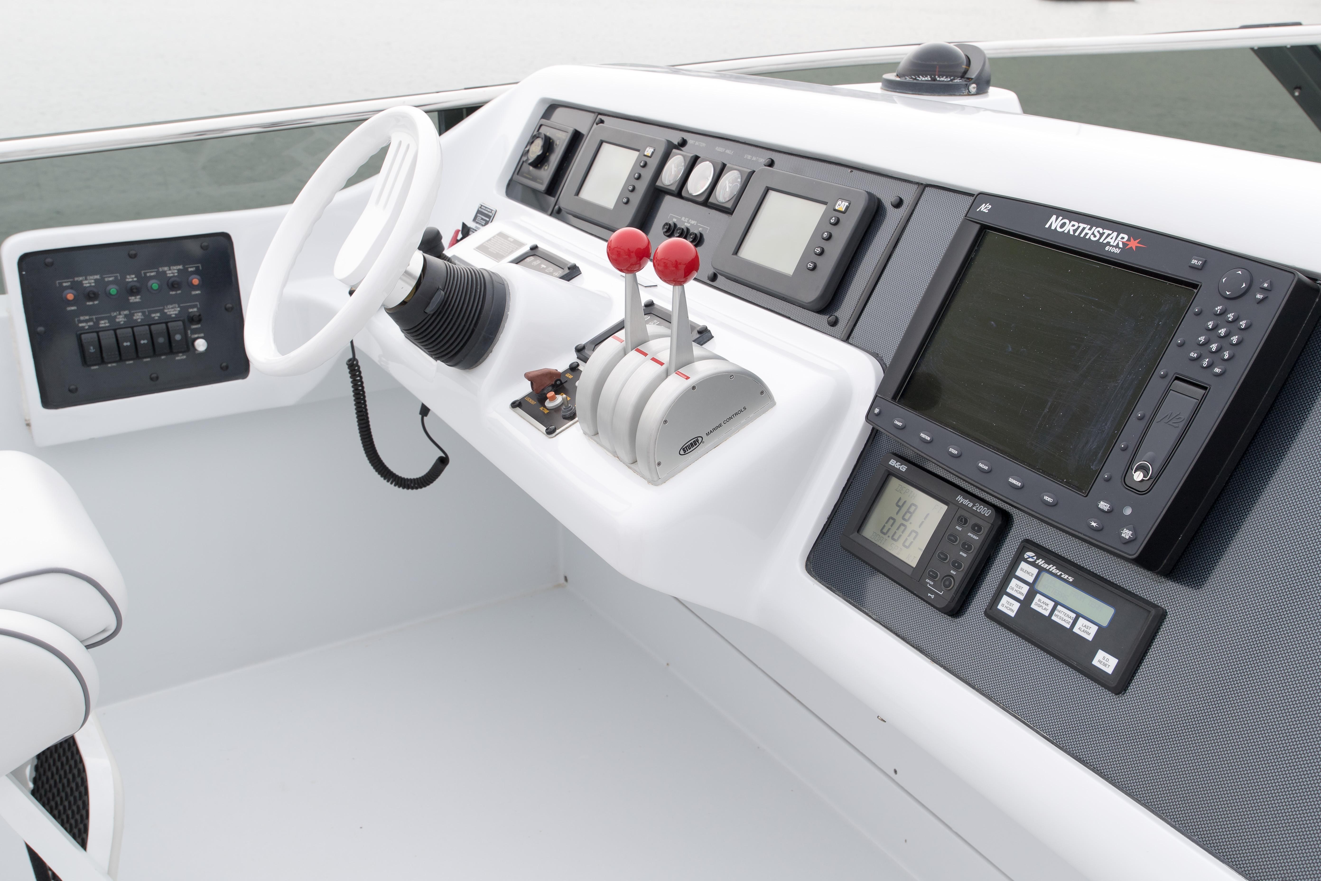 Flybridge controls