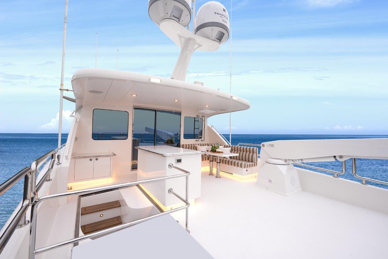 Manufacturer Provided Image: Enclosed bridge deck