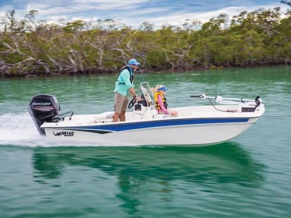 2020 Mako boat for sale, model of the boat is Pro Skiff 17 CC & Image # 1 of 26