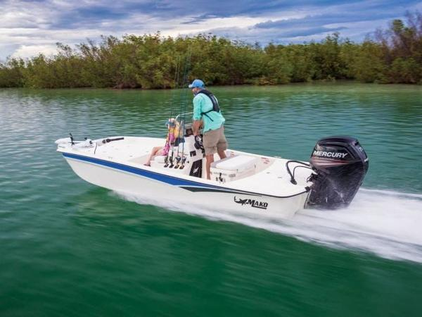 2020 Mako boat for sale, model of the boat is Pro Skiff 17 CC & Image # 22 of 26