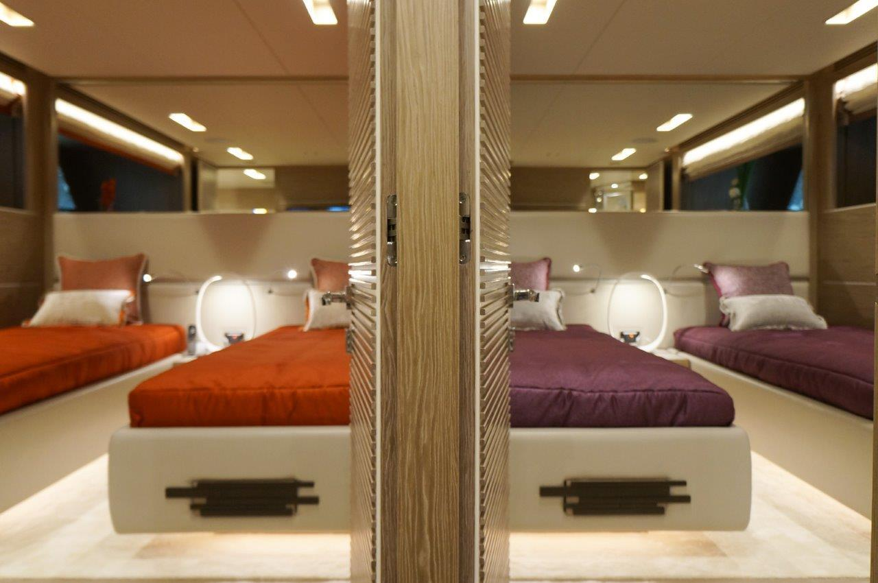 Manufacturer Provided Image: Mirrored Twin Staterooms