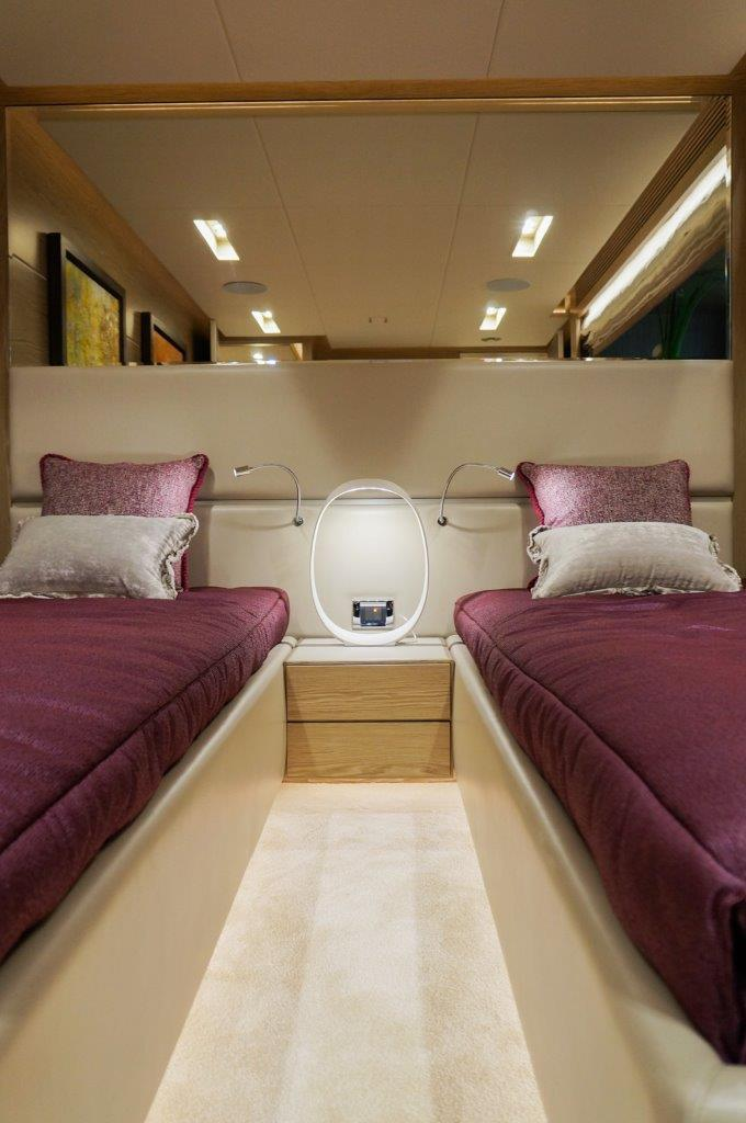 Manufacturer Provided Image: Port Twin Guest Stateroom