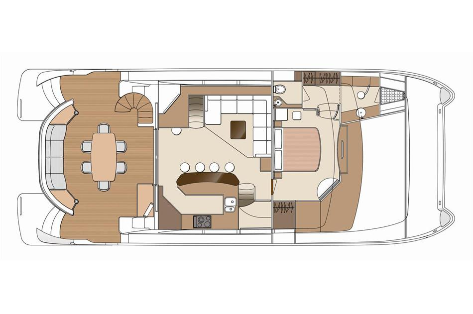 Manufacturer Provided Image: Main Deck GA