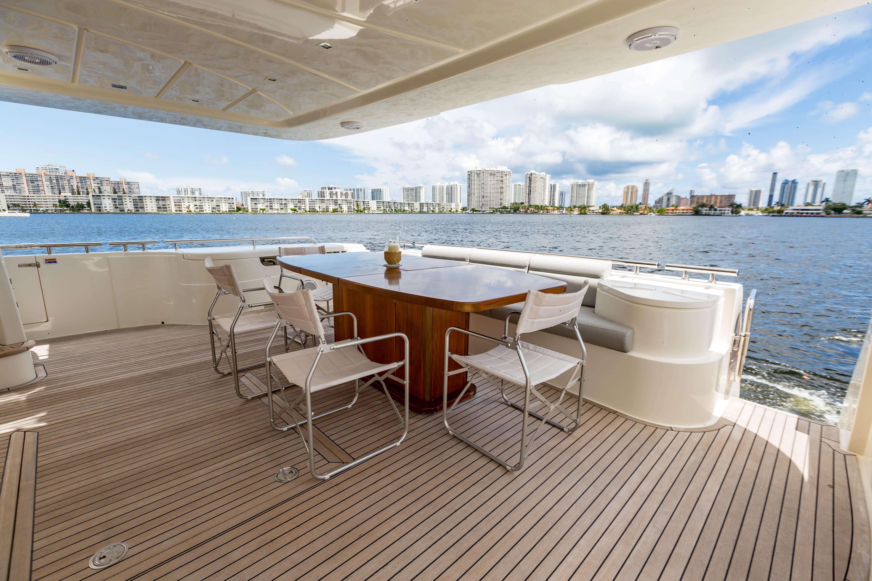 2016  Ferretti Yachts 870 Paola IV - Aft Deck