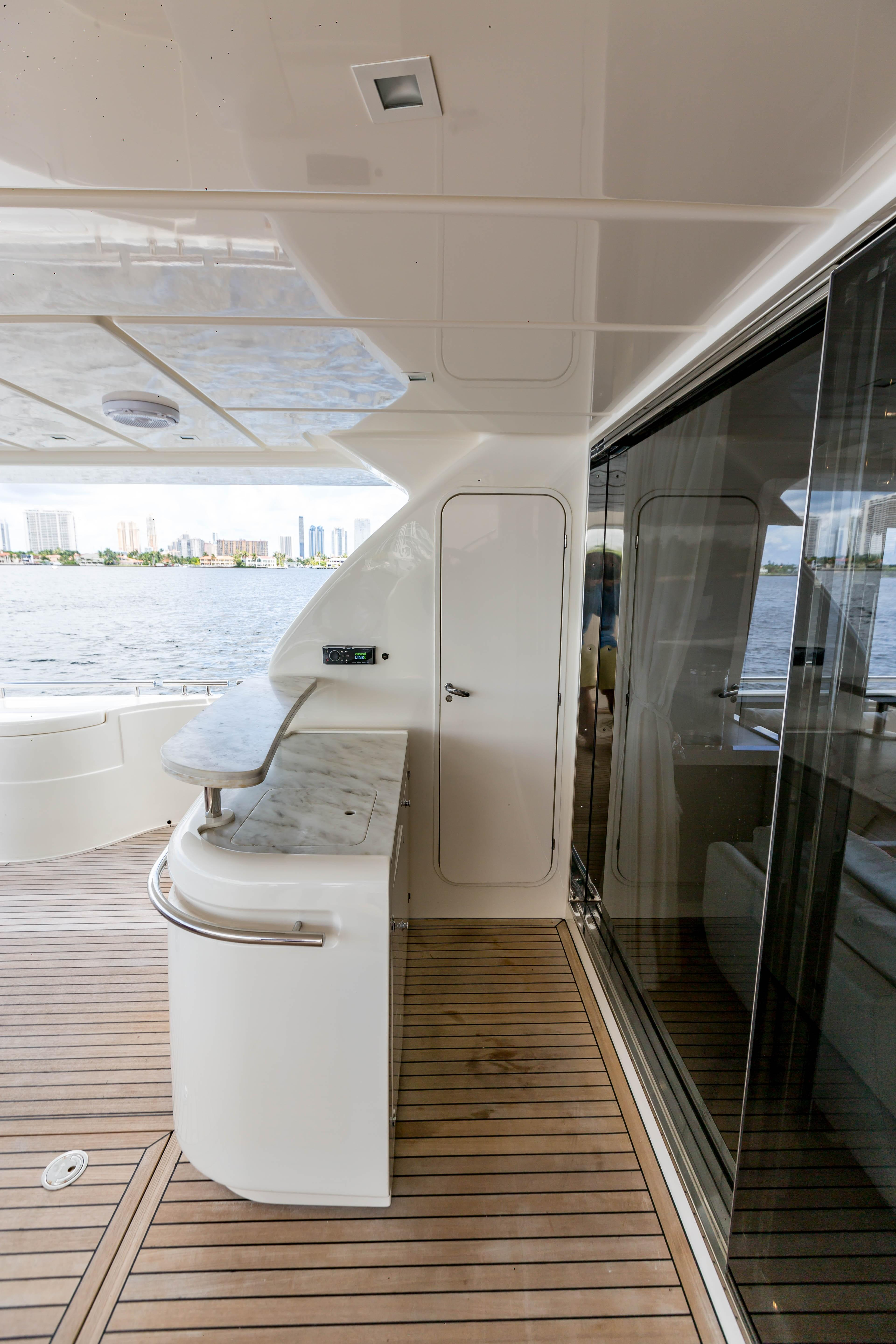 2016  Ferretti Yachts 870 Paola IV - Crew Quarters and Entry door