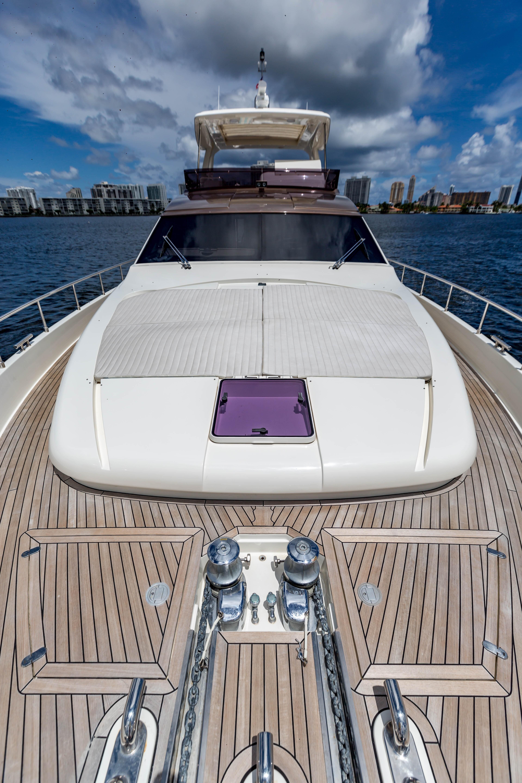 2016  Ferretti Yachts 870 Paola IV - Bow Sun pads