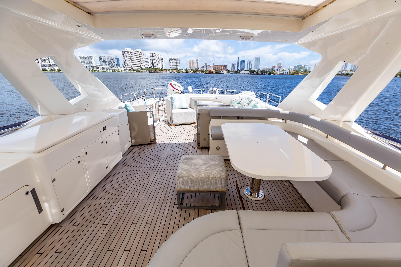 2016  Ferretti Yachts 870 Paola IV - Flybridge