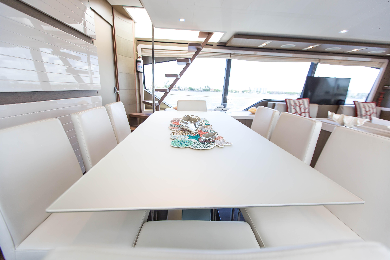 2016  Ferretti Yachts 870 Paola IV - Dining