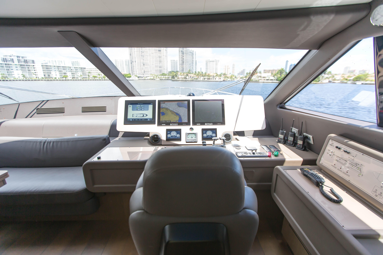 2016  Ferretti Yachts 870 Paola IV - Lower Helm