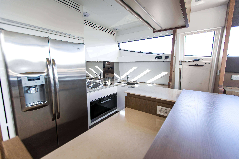2016  Ferretti Yachts 870 Paola IV - Galley