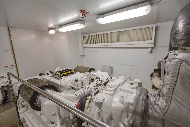 2016  Ferretti Yachts 870 Paola IV - Engine Room