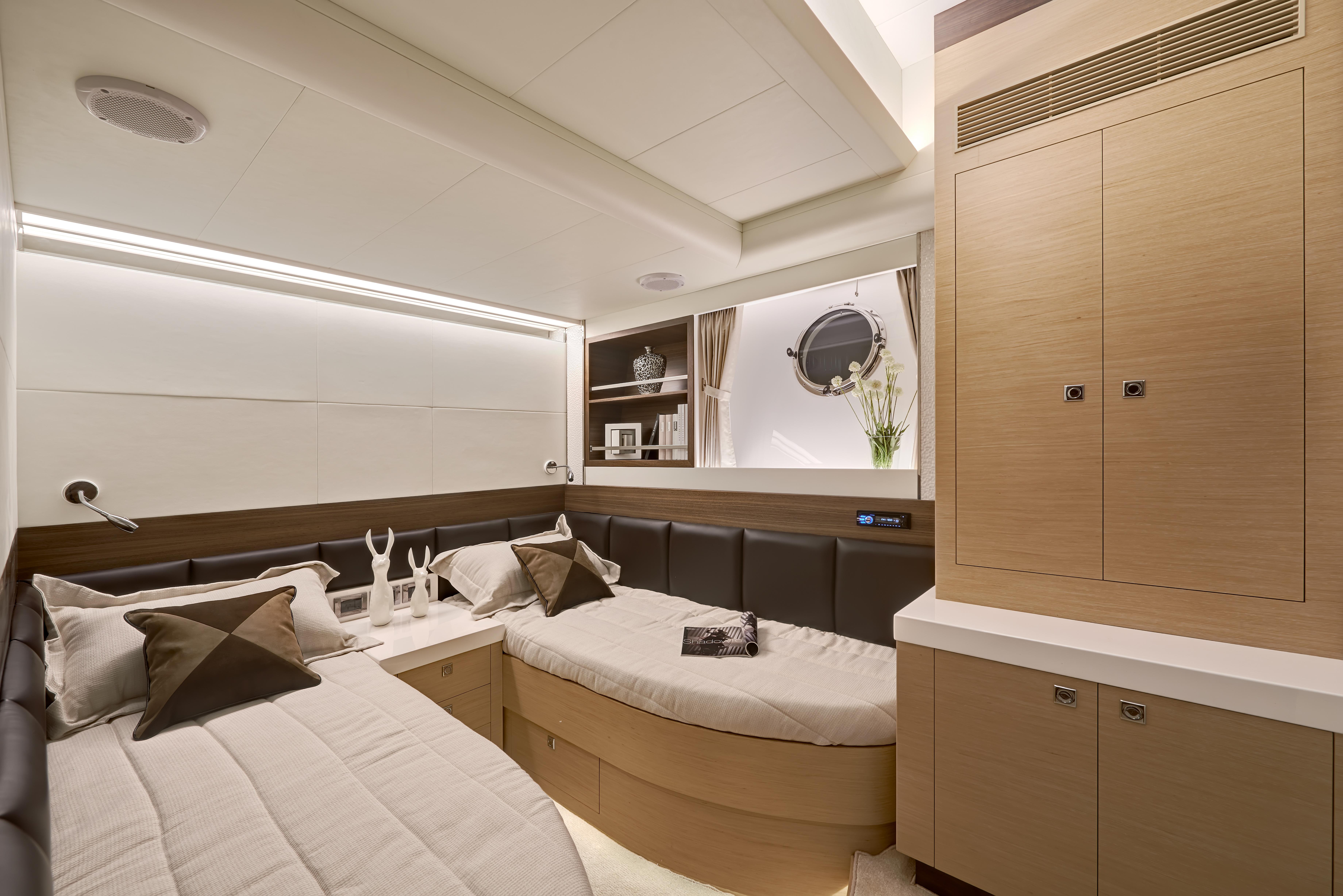 Manufacturer Provided Image: Twin Guest Stateroom B