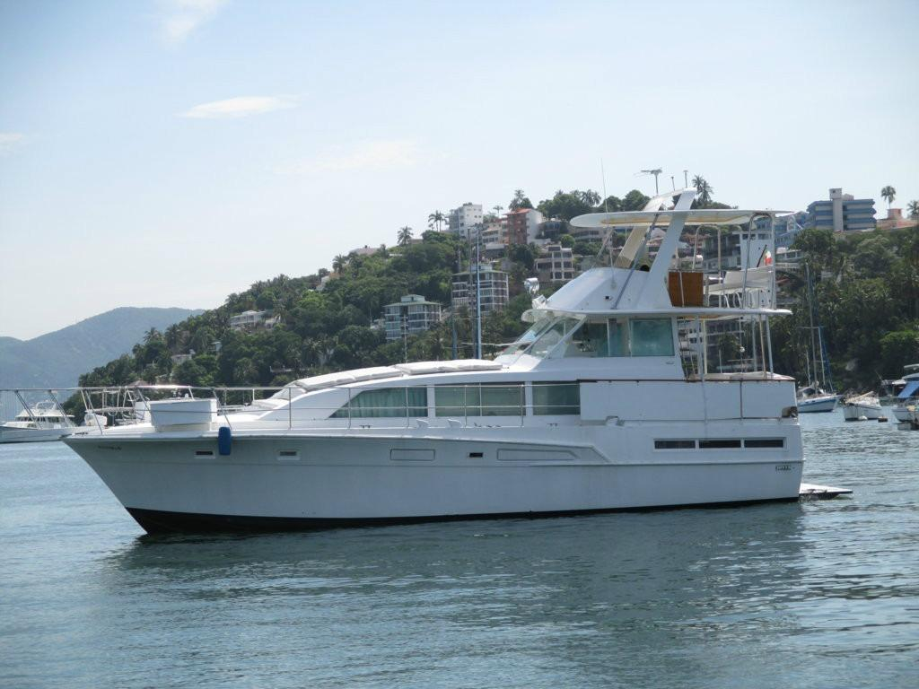 1974 Bertram 46 Flybridge Motor Yacht