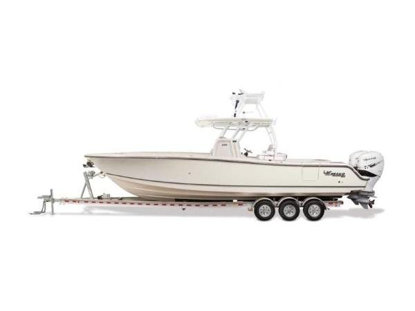 2020 Mako boat for sale, model of the boat is 334 CC Sportfish Edition & Image # 4 of 12