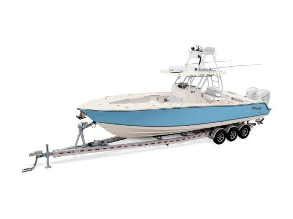 2020 Mako boat for sale, model of the boat is 334 CC Sportfish Edition & Image # 10 of 12