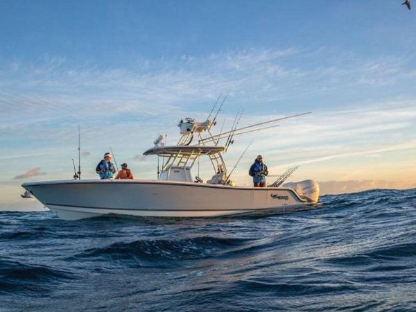2020 Mako boat for sale, model of the boat is 334 CC Sportfish Edition & Image # 12 of 12