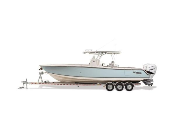 2020 Mako boat for sale, model of the boat is 334 CC Family Edition & Image # 2 of 12