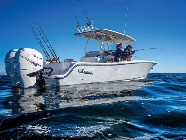 2020 Mako boat for sale, model of the boat is 334 CC Family Edition & Image # 6 of 12