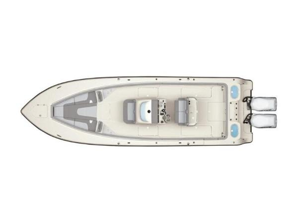 2020 Mako boat for sale, model of the boat is 334 CC Family Edition & Image # 9 of 12