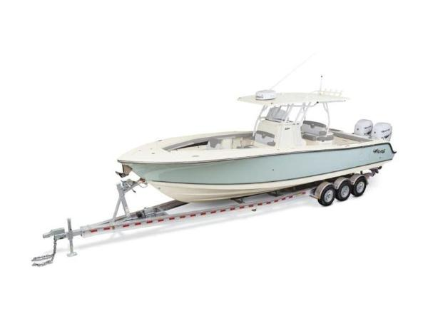 2020 Mako boat for sale, model of the boat is 334 CC Family Edition & Image # 12 of 12