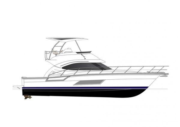 Riviera 43 Flybridge Profile