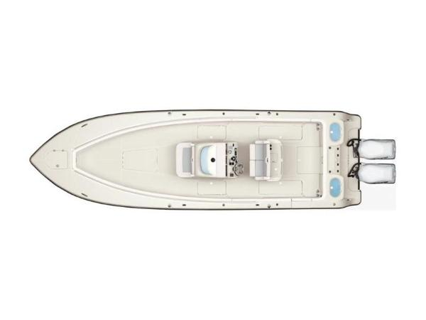 2020 Mako boat for sale, model of the boat is 334 CC & Image # 2 of 5