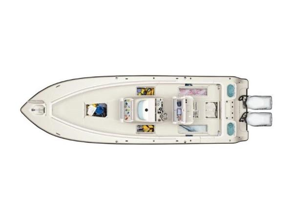 2020 Mako boat for sale, model of the boat is 334 CC & Image # 4 of 5