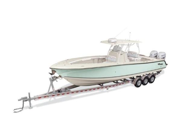 2020 Mako boat for sale, model of the boat is 334 CC & Image # 5 of 5