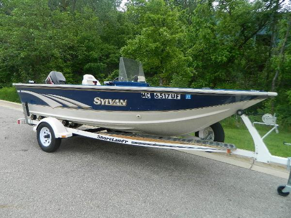 1997 SYLVAN 16 EXPLORER for sale