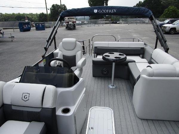 2021 Godfrey Pontoon boat for sale, model of the boat is SW 2286 SFL TT-27 & Image # 9 of 26